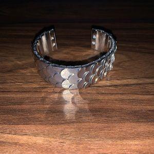 Silver Fish 🐟 Scale Bracelet